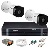 KIT 2 CÂMERAS VHD 3120 B G5   DVR INTELB