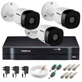 KIT 3 CÂMERAS VHD 1120 B G5   DVR INTELB