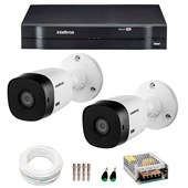 KIT INTELBRAS 2 CÂMERAS HD 720P VHL 1120