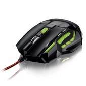 Mouse Gamer Usb Óptico 2400dpi FireMouse Multilaser